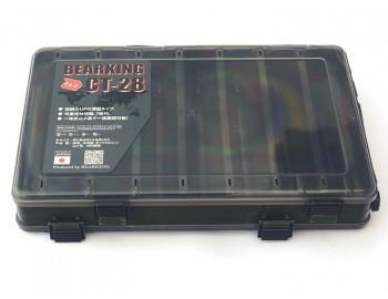 Коробка для воблеров двухсторонняя 27*17*5 Болотная