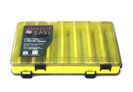 Коробка для воблеров двухсторонняя 27*17*5 Желтая