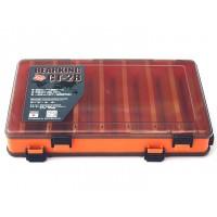 Коробка для воблеров двухсторонняя 27*17*5 Оранжевая